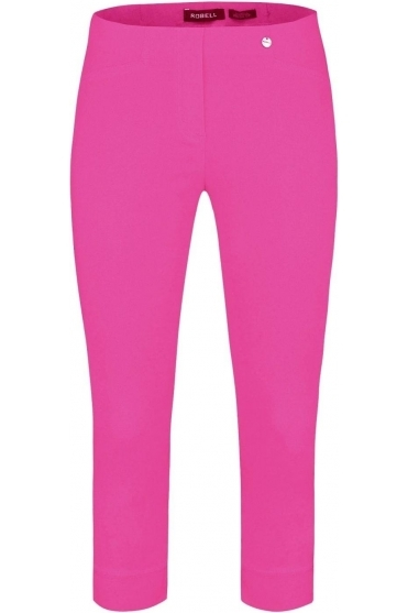 Rose 07 Cropped Trousers Orchid Pink - 51636-5499-550