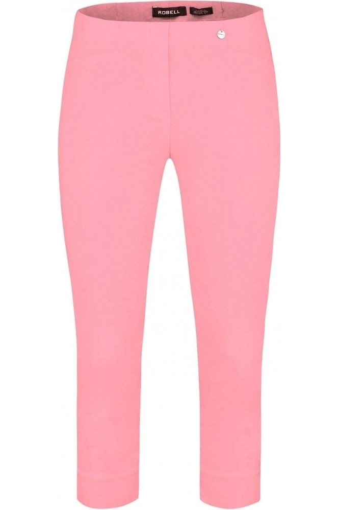 Robell Rose 07 Cropped Trousers Powder Rose 410 - 51636-5499-410