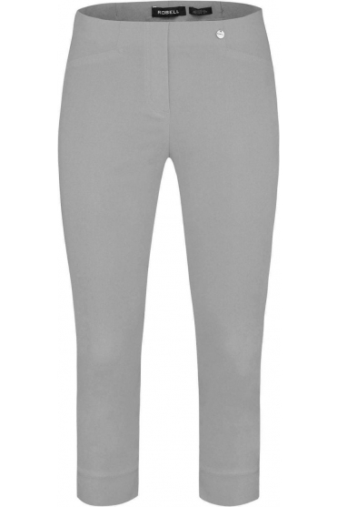 Rose 07 Cropped Trousers - Stone Grey 920 - 51636-5499-920
