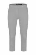 Robell Rose 07 Cropped Trousers - Stone Grey 920 - 51636-5499-920