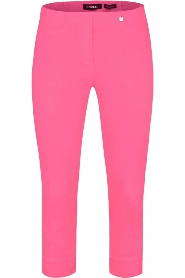 Rose 07 Cropped Trousers Wild Rose 420 - 51636-5499-420