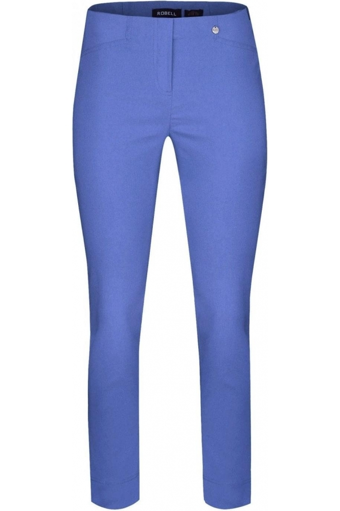 Robell Rose 09 7/8 Azure Blue Trousers - 51527-5499-600