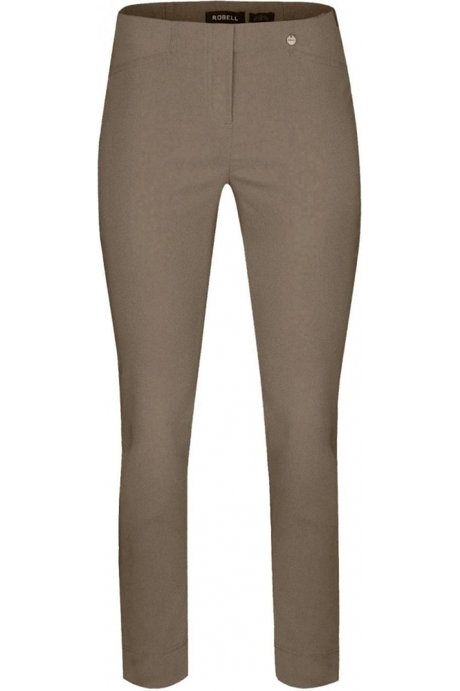 Robell Rose 09 7/8 Mink Trousers - 51527-5499-16