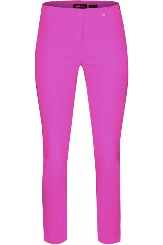 Robell Rose 09 7/8 Orchid Pink Trousers - 51527-5499-550
