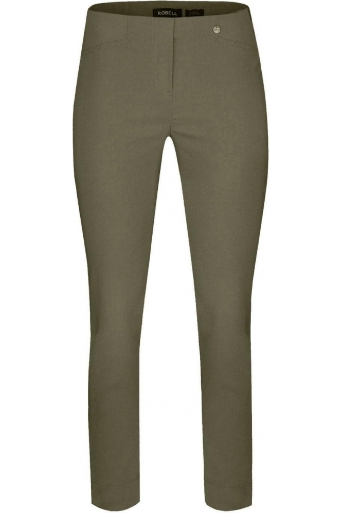 Robell Rose 09 7/8 Trousers Ivy Green 881 - 51527-5499-881