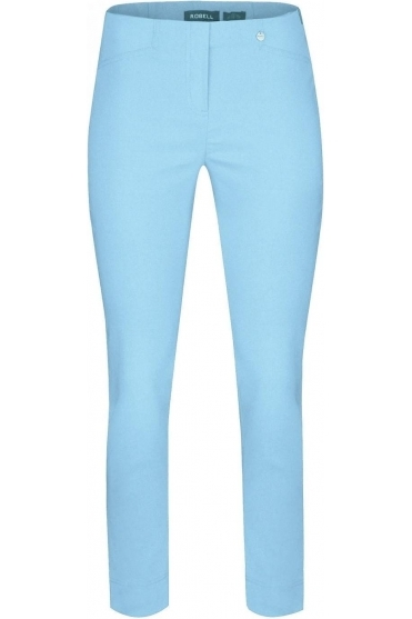 Rose 09 7/8 Turquoise Trousers - 51527-5499-170