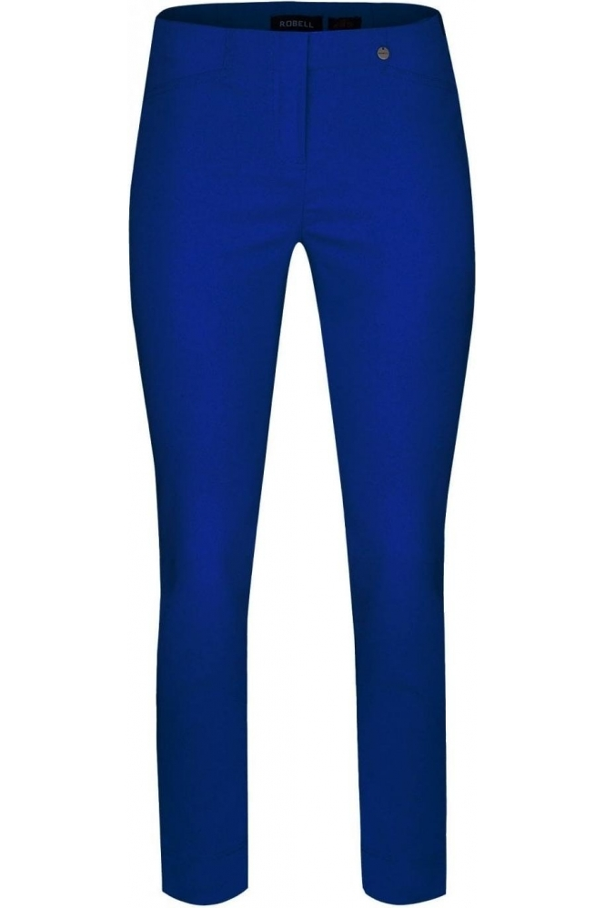 Robell Rose 09 Royal Blue Trousers - 51527-5499-67