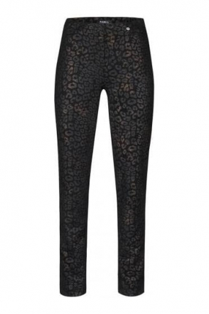 Rose Leopard Print Trousers - 52625-54786-90