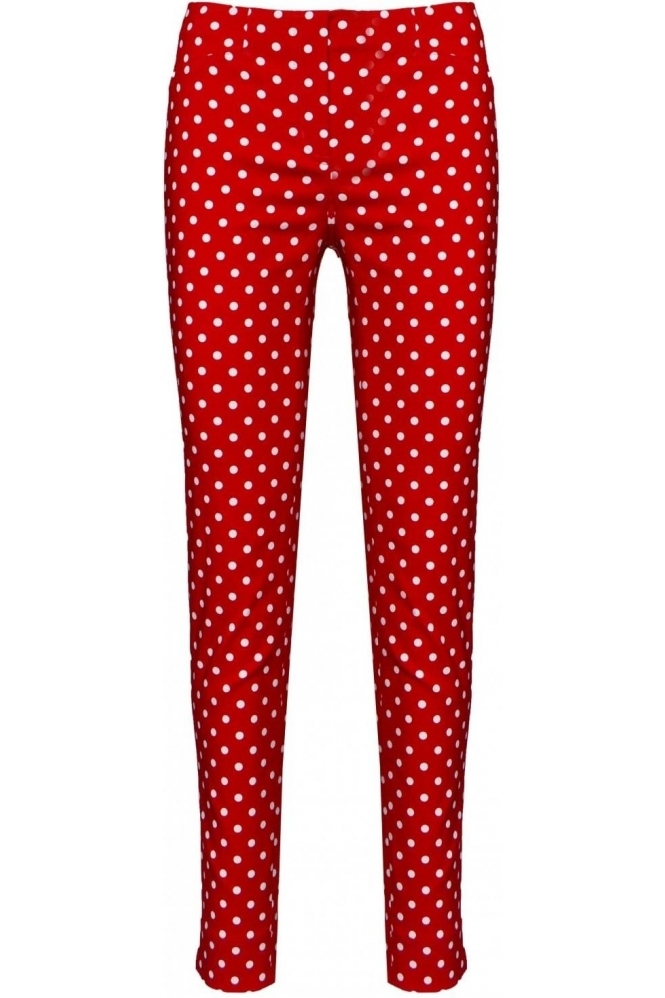 Rose Spot Print Red 40 - 52624-54570-40