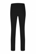 Robell Rose Super Slim Fit Black Trousers - 51673-5499-90