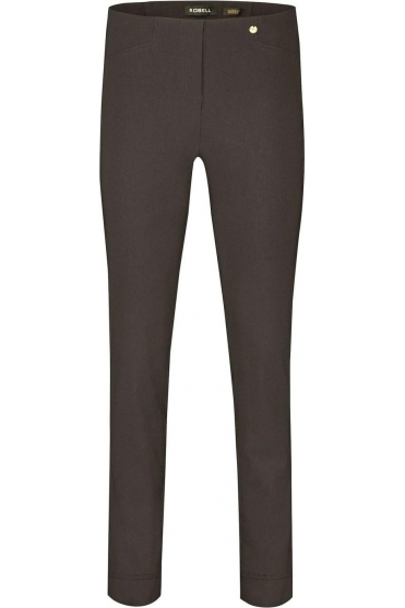 Rose Super Slim Fit Dark Brown Trousers - 51673-5499-39