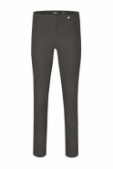 Robell Rose Super Slim Fit Elephat Grey Trousers - 51673-5499-97
