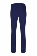 Robell Rose Super Slim Fit Palace Blue Trousers - 51673-5499-65