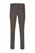 Robell Rose Super Slim Fit Toffee Trousers - 51673-5499-38