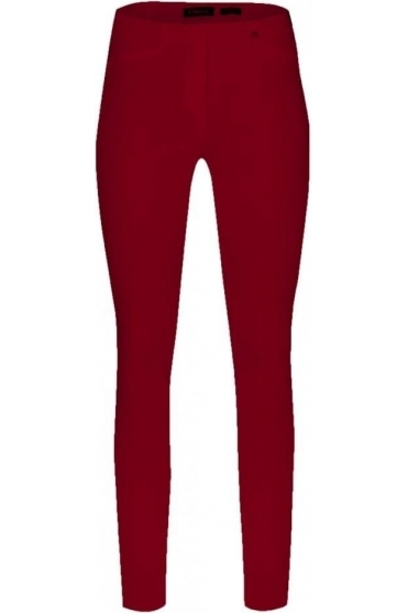 Rose Super Slim Fit Trousers - Cranberry - 51673-5499-440