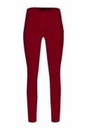 Robell Rose Super Slim Fit Trousers - Cranberry - 51673-5499-440