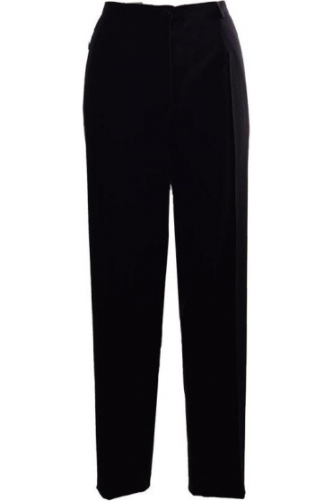Sahra Comfort Fit Full Length Trousers - Black -51562-5405-90