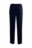 Robell Sahra Short Length Trousers - Navy - 51562-5405-69S