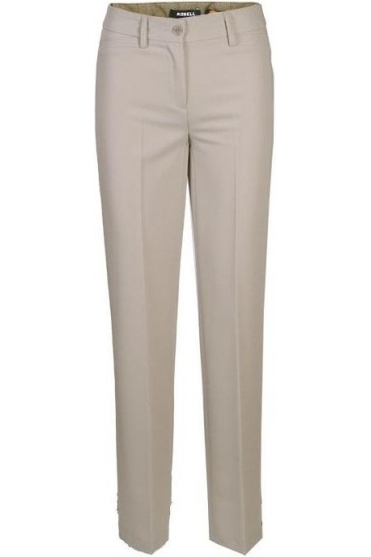 Sissi Light Weight Full Length Trousers - Beige 14 - 51488-5611-14