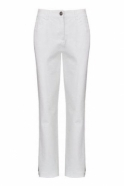 Robell Sonja Short Length Denim Jeans White 10 - 51420-5469-10S