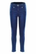 Robell Star 09 Regular Length Jeans - Denim Blue - 51474-5448-64