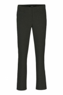 Robell Tailored Straight Leg Short Jacklyn Trousers - Grey - 51408-5689-197S