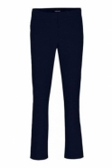 Robell Tailored Straight Leg Short Jacklyn Trousers - Navy - 51408-5689-69s