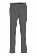 Robell Tailored Straight Leg Short Jacklyn Trousers - Silver- 51408-5689-91S