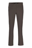 Robell Tailored Straight Leg Short Jacklyn Trousers - Taupe - 51408-5689-1118S