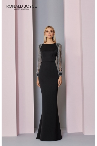 Jewel Embellished Evening Dress - 129301