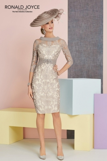 Lace Detail Dress - 991334