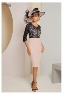 Veni Infantino Lace Embellished Two Piece (Rose) - 991414