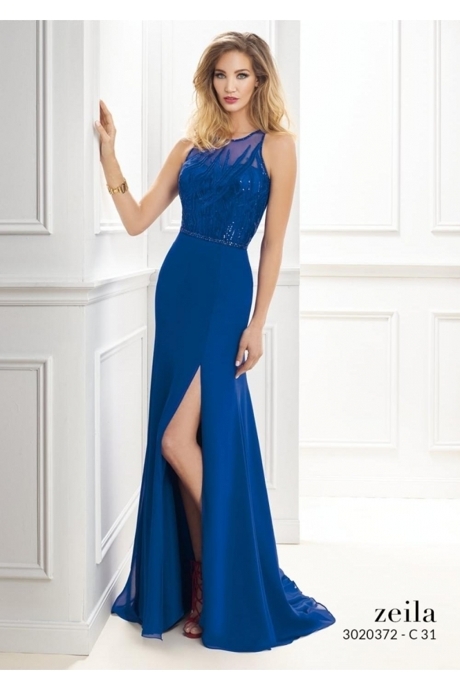 Zeila Sequin Embellished Gown - 3020372